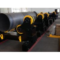 China 60 Ton Motorized Traveling Welding Turning Rolls For Pipe , Turning Speed 100~1000 mm/min wholesale