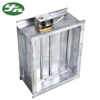 China Ventilation System Galvanized Steel Air Volume Regulating Valve In Air Ducting on sale