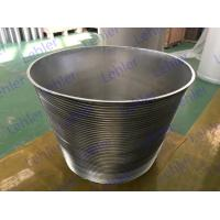 China Centrifuge Wedge Wire Basket Conical Cylinders For Starch And Sugar Industry wholesale