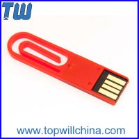 China Office Hot Product Paper Clip 16 GB Pen Drive Storage Memory Drive wholesale
