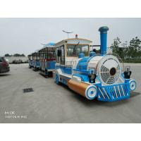 China Square Safety Tourist Train Rides Kids Party Train 380V Customize Color wholesale