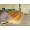 China White / Brown Birch Rotary Cut Wood Veneer , Quilted Maple Veneer wholesale