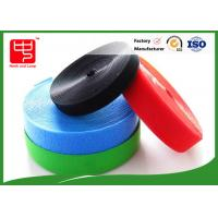 China Colorful Hook And Loop Velcro Rolls / Soft Heavy Duty Hook And Loop wholesale