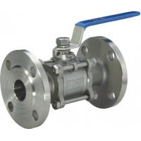 China Cast Stainless Steel Flanged Floating Ball Valve 150LB wholesale