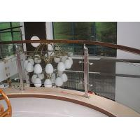 China Custom Toughened Staircase Railing Glass, 15mm Tempered Safety Glass For Handrail wholesale