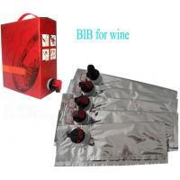 China Laminated Aseptic Bib Bag In Box Customize 2L 3L 5L 10L For Red Wine wholesale
