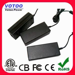 China 12VDC 5Amp AC DC Power Adapter 60Watt LED Driver ETL FCC Approved wholesale