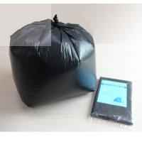 ISO Approved Black HDPE Plasticgarbage Bags