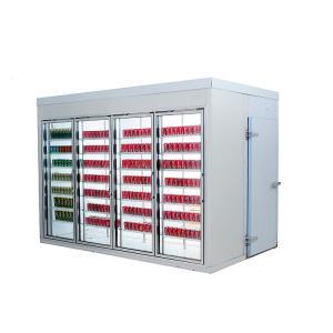 China Glass Door Multideck Display Fridge Customized Dimensions 220v/380v Voltage wholesale