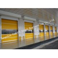 China Electrical High Speed Steel Roller Shutter Door PVC Surface For Logistics Center on sale
