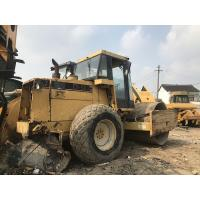 Buy cheap Used CAT CS-583C Vibratory Smooth Drum Roller Original paint CAT 3116T Engine from wholesalers