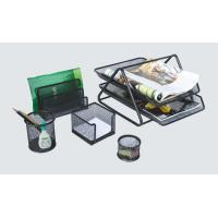 China 5 Pieces Mesh Stationery Set 119604 on sale
