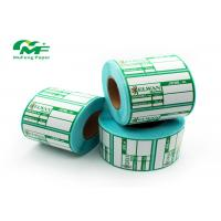 China SGS Zebra Thermal Transfer Labels Stickers Direct Thermal Printer Barcode Label wholesale