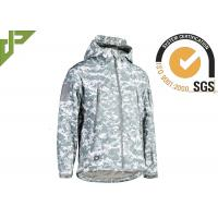 China Military Style ACU Tactical Fleece Jacket , Law Enforcement Jackets Spandex Material wholesale