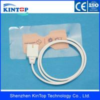 China High quality Compatible disposable spo2 sensor, Biolight Adult disposable spo2 sensor, Cream Material With digital wholesale