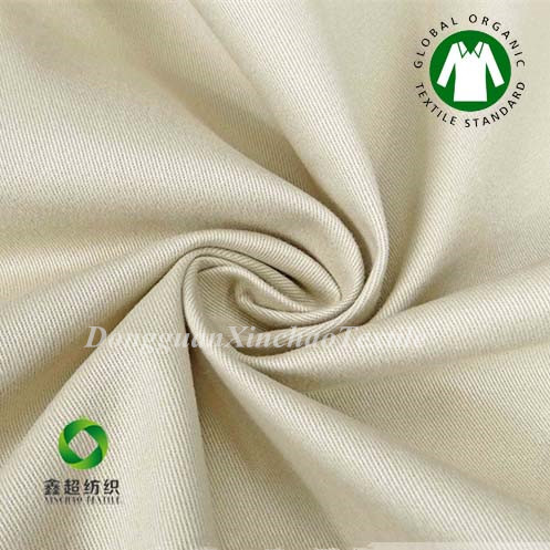 Quality Wholesale supplier Organic Cotton Elastic Stretch Fabric made in china for sale