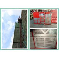 Heavy Load Capacity Rack And Pinion Passenger Material Hoist For Construction Site