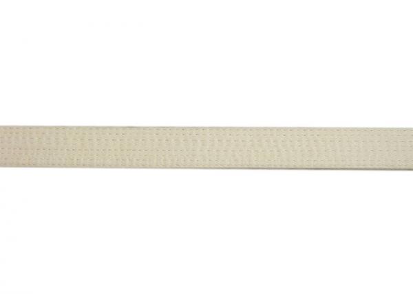 Quality Hard Brazilian Jiu Jitsu Gis 100% Hemp Bjj Belt , White 328CM Embroidered Martial Arts Belts for sale