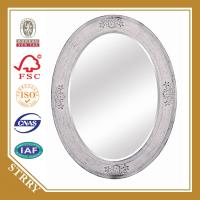 China 2014 new mirror frame for home decoration,oval shape wooden mirror frame on sale