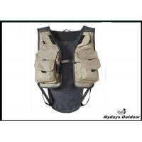 China White Small Inflatable Hunting Fishing Vest Pe Foam Filling Open Sides wholesale