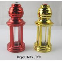 Buy cheap 3ml four-column plastic perfume bottle dropper essential oil glass bottle roll on bottle from wholesalers