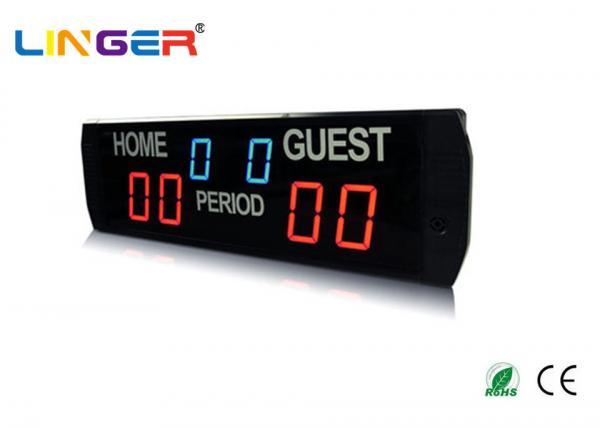 Quality Indoor Aluminum Alloy Frame Portable Baseball Scoreboard For Korea / Japan Market for sale