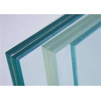 China Decorative Clear Tempered PVB Laminated Glass / Tempered Safety Glass For Stairs wholesale