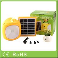 China Factory OEM for off-grid rechargeable solar led camping lantern with phone charger wholesale