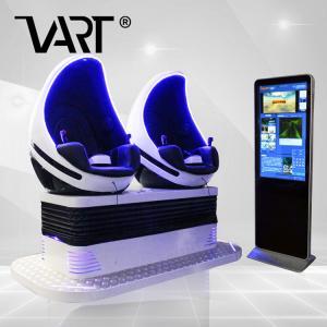 China Black Egg Shaped 9d Virtual Reality Simulator Mini Cinema For Busy Street Park on sale