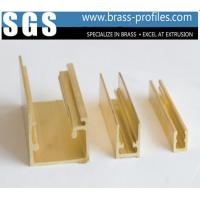 Copper Alloy Extrusion Window Frame Special Brass Window Sections