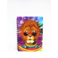 Buy cheap 400 DPI PET / PP A6 3D Lenticular Notebook / Spiral Diary Book from wholesalers