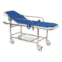 Stainless Steel Manual Patient Transfer Trolley For Handicapped