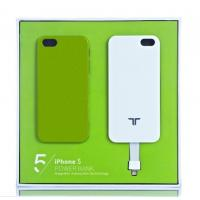 China White Magnetic Portable Power Bank for iPhone 5 wholesale