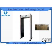 China Super Scanner Multi Zone Door Frame Metal Detector Gate Widen Working Frequency wholesale
