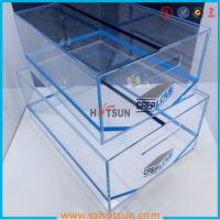 China 2016 acrylic sneaker box, acrylic shoe box, shoe storage box display rack wholesale