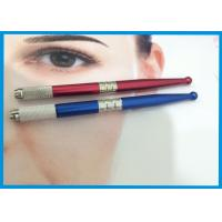 3D Eyebrow Tattooing Manual Cosmetic Tattoo Pen / Microblading Pen With Microblades