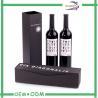 China Custom Fancy Printed Wine Gift Boxes , Single wine bottle gift box wholesale
