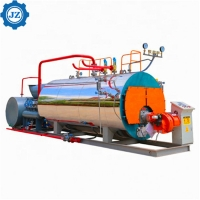 China 1 - 25 T/H Capacity Industrial Gas Oil Fired Steam Boilers With Imported Burner wholesale
