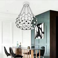 China Modern LED hanging ceiling pendant lights Mesh Suspension Luceplan for hotel wholesale