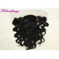 China Ear To Ear 13x4 Lace Frontal Closure Piece 100 Brazilian Curly Virgin Hair wholesale