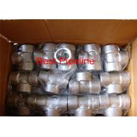 China 1.4571 Forged Stainless Steel Pipe Fittings 4 Inch Pipe Coupling / Tee Coupling wholesale