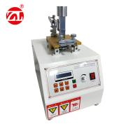 China Motor Drive Leather Friction Color Fastness Tester to Dry , Wet and Friction on sale