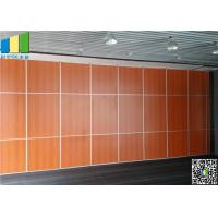 China MDF Movable Sliding Door Aluminum Track Plywood Panel surface on sale