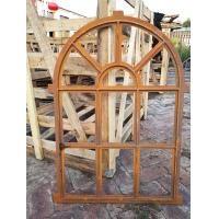 China Arched Mirror Cast Iron Windows For Garden Standard Size Antique Metal Windows wholesale
