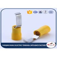 Buy cheap Wholesale safety durable electrica ends insulated lipped blade terminals from wholesalers