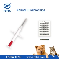 China 134.2khz 1.4mm Glass Tag ISO Transponder Microchip wholesale
