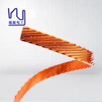China Different Size Flat / Rectangular Litz Wire , Multiple Stranded Magnet Wire For Inverters on sale