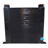 China Gasket Fin 1.0mm Microchannel Heat Exchanger For Water Chiller System wholesale