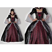 China Vampires Of Versailles 1083 Womens Halloween Costumes , Gray Red Scary Halloween Costumes wholesale