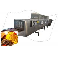 China Commercial Microwave Tunnel Dryer For Spice wholesale